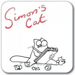 SIMON 's Cat Untersetzer-Das Schreiben - 1