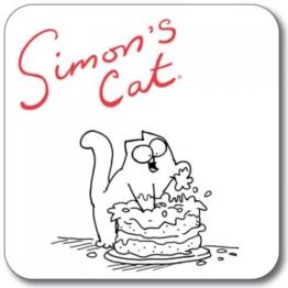 SIMON 's Cat Untersetzer-Kuchen - 1