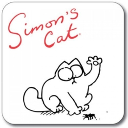 SIMON 's Cat Untersetzer - Spider Splat - 1
