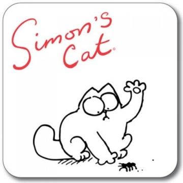 SIMON 's Cat Untersetzer-Spider Splat - 1