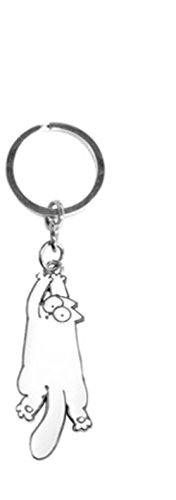 Schlüsselanhänger Simon´s Cat hängende Katze -