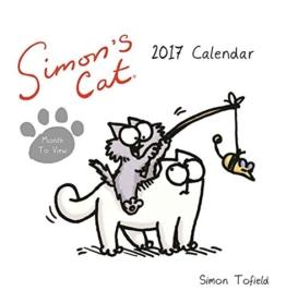 SIMON 's Cat Serie-Schreibtisch Kalender 2017 -