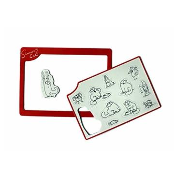Simons Cat Magnetbilderrahmen mit Magnete Thermometer 2er Pack Geschenk JEB -