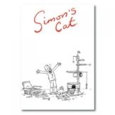 Simon's Cat Notizbuch–Motiv: Kratzbaum -